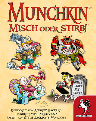 Einfach und sicher online bestellen: Munchkin: Misch oder stirb! in Österreich kaufen.