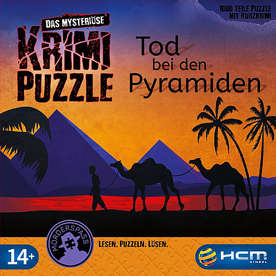 Einfach und sicher online bestellen: Murder Mystery Puzzle: Tod bei den Pyramiden in Österreich kaufen.