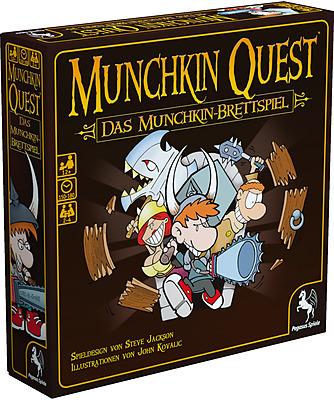 Einfach und sicher online bestellen: Munchkin Quest in Österreich kaufen.