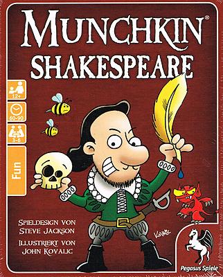 Einfach und sicher online bestellen: Munchkin Shakespeare in Österreich kaufen.