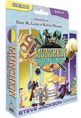 Einfach und sicher online bestellen: Munchkin Cleric / Thief Starter in Österreich kaufen.