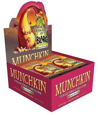Einfach und sicher online bestellen: Munchkin Sammelkartenspiel: Booster Display (S2) in Österreich kaufen.