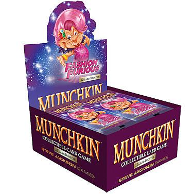 Einfach und sicher online bestellen: Munchkin Sammelkartenspiel: Booster Display (S3) in Österreich kaufen.