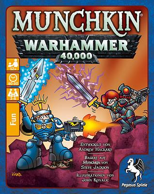 Einfach und sicher online bestellen: Munchkin: Warhammer 40.000 in Österreich kaufen.
