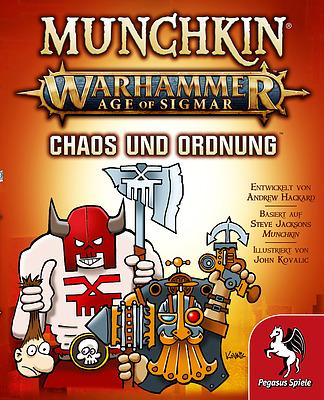 Einfach und sicher online bestellen: Munchkin: Warhammer AOS Chaos & Ordnung in Österreich kaufen.