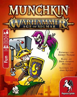 Einfach und sicher online bestellen: Munchkin: Warhammer Age of Sigmar in Österreich kaufen.