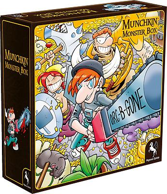 Einfach und sicher online bestellen: Munchkin Monsterbox Cover 1 (Huang) in Österreich kaufen.