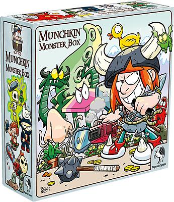 Einfach und sicher online bestellen: Munchkin Monsterbox Cover 2 (McGinty) in Österreich kaufen.