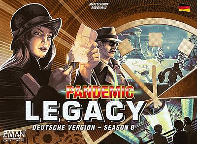 Einfach und sicher online bestellen: Pandemic Legacy Season 0 in Österreich kaufen.