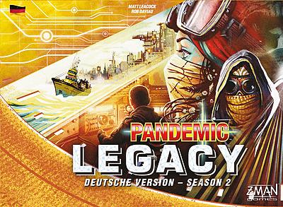 Einfach und sicher online bestellen: Pandemic Legacy Season 2 Gelb in Österreich kaufen.