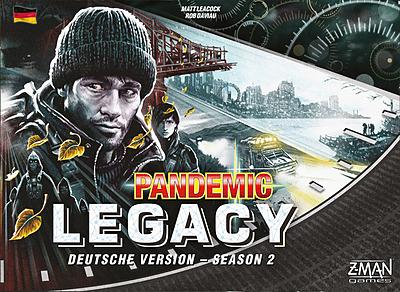 Einfach und sicher online bestellen: Pandemic Legacy Season 2 Schwarz in Österreich kaufen.