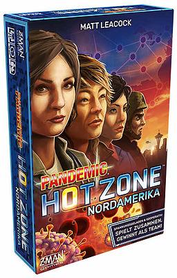 Einfach und sicher online bestellen: Pandemic Hot Zone: Nordamerika in Österreich kaufen.