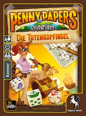 Einfach und sicher online bestellen: Penny Papers Adventures: Die Totenkopfinsel in Österreich kaufen.
