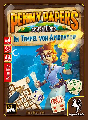 Einfach und sicher online bestellen: Penny Papers Adventures: Im Tempel von Apikhabou in Österreich kaufen.