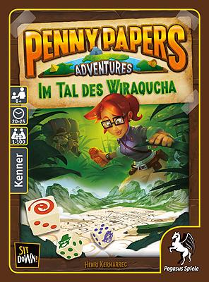 Einfach und sicher online bestellen: Penny Papers Adventures: Im Tal des Wiraqucha in Österreich kaufen.