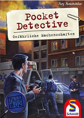 Einfach und sicher online bestellen: Pocket Detective - Gefährliche Machenschaften in Österreich kaufen.