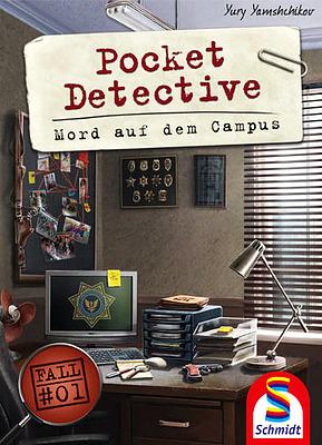 Einfach und sicher online bestellen: Pocket Detective - Mord auf dem Campus in Österreich kaufen.