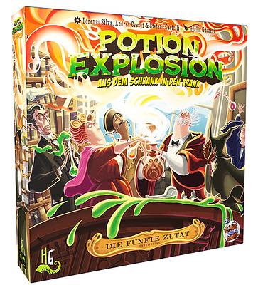 Einfach und sicher online bestellen: Potion Explosion - Die 5. Zutat in Österreich kaufen.