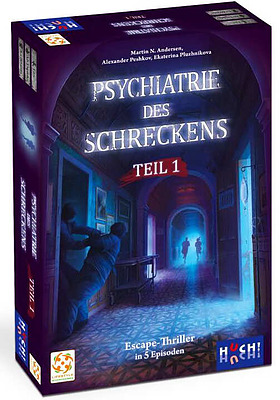 Einfach und sicher online bestellen: Psychiatrie des Schreckens Box 1 in Österreich kaufen.