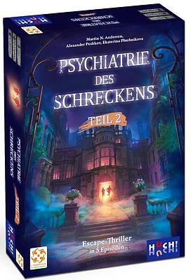 Einfach und sicher online bestellen: Psychiatrie des Schreckens Box 2 in Österreich kaufen.