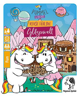 Einfach und sicher online bestellen: Pummel & Friends - Kekse für die Glitzerwelt in Österreich kaufen.