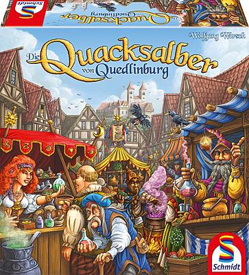 Einfach und sicher online bestellen: Die Quacksalber von Quedlinburg in Österreich kaufen.