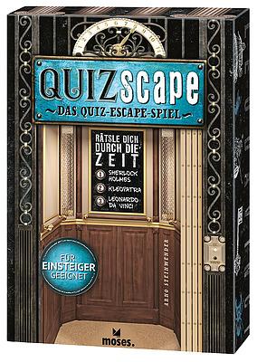 Einfach und sicher online bestellen: QUIZscape - Rätsel dich durch die Zeit in Österreich kaufen.