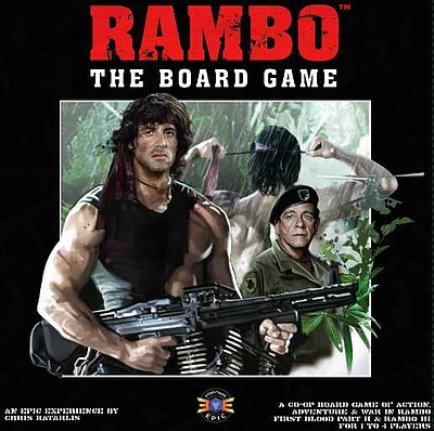 Einfach und sicher online bestellen: Rambo the Boardgame (Englisch) in Österreich kaufen.