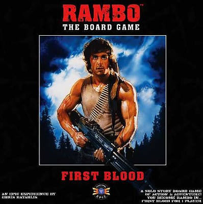 Einfach und sicher online bestellen: Rambo the Boardgame First Blood (Englisch) in Österreich kaufen.