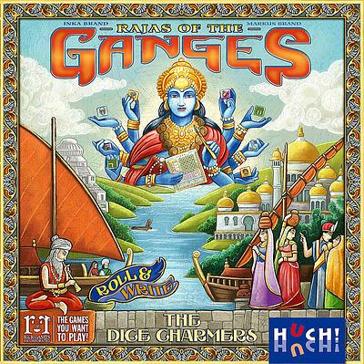 Einfach und sicher online bestellen: Rajas of the Ganges - The Dice Charmers in Österreich kaufen.