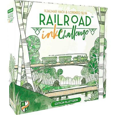 Einfach und sicher online bestellen: Railroad Ink Challenge: Edition Blattgrün in Österreich kaufen.
