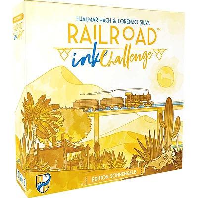 Einfach und sicher online bestellen: Railroad Ink Challenge: Edition Sonnengelb in Österreich kaufen.