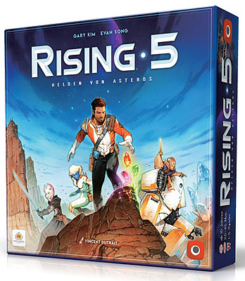 Einfach und sicher online bestellen: Rising 5 - Helden von Asteros in Österreich kaufen.
