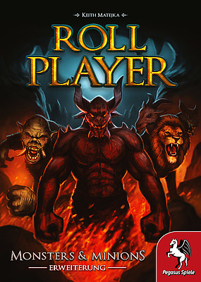 Einfach und sicher online bestellen: Roll Player: Monster & Minions in Österreich kaufen.