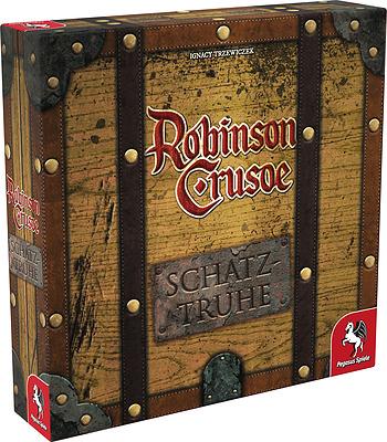 Einfach und sicher online bestellen: Robinson Crusoe Schatztruhe in Österreich kaufen.