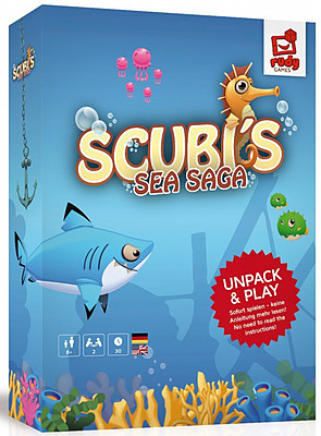 Einfach und sicher online bestellen: Scubi's Sea Saga in Österreich kaufen.