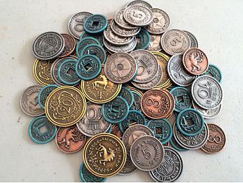 Einfach und sicher online bestellen: Scythe: Metal Coins in Österreich kaufen.
