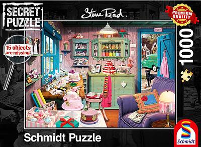Einfach und sicher online bestellen: Secret Puzzle Großmutters Stube in Österreich kaufen.