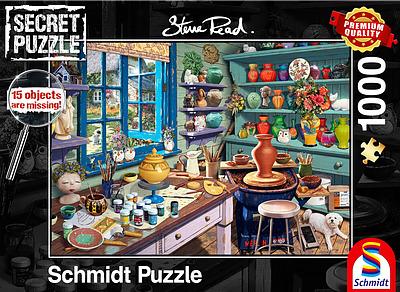 Einfach und sicher online bestellen: Secret Puzzle Künstler-Atelier in Österreich kaufen.
