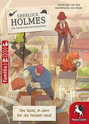 Einfach und sicher online bestellen: Sherlock Holmes - Die Nachwuchs Investigatoren in Österreich kaufen.