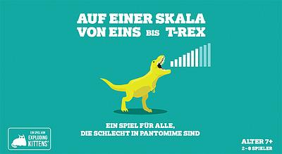Einfach und sicher online bestellen: Auf einer Skala von Eins bis T-Rex in Österreich kaufen.