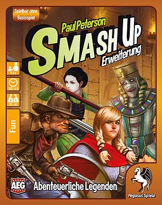 Einfach und sicher online bestellen: Smash Up: Abenteuerliche Legenden in Österreich kaufen.
