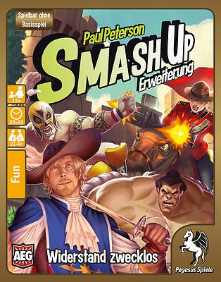 Einfach und sicher online bestellen: Smash Up: Wiederstand ist zwecklos in Österreich kaufen.