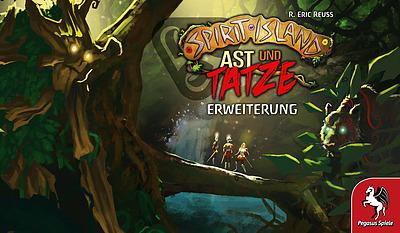 Einfach und sicher online bestellen: Spirit Island: Ast und Tatze in Österreich kaufen.