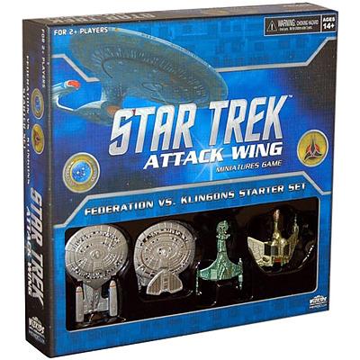 Einfach und sicher online bestellen: Federation vs. Klingons Starter Set in Österreich kaufen.