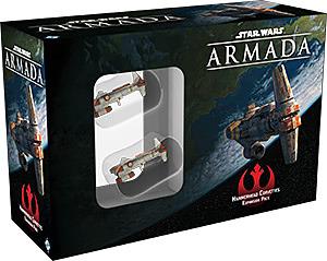 Einfach und sicher online bestellen: Star Wars Armada: Hammerhai Korvetten in Österreich kaufen.
