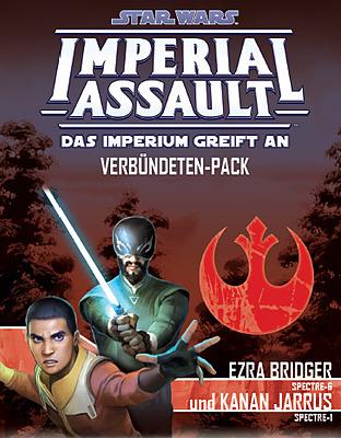 Einfach und sicher online bestellen: Star Wars Imperial Assault: Ezra und Kanan in Österreich kaufen.