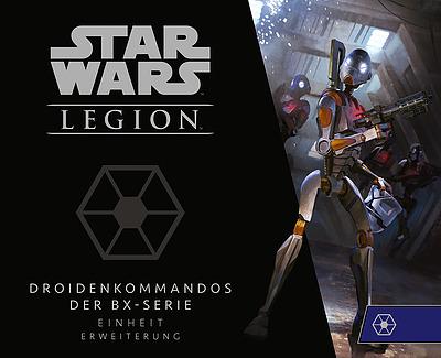 Einfach und sicher online bestellen: Star Wars: Legion - Droidenkommandos BX-Serie in Österreich kaufen.