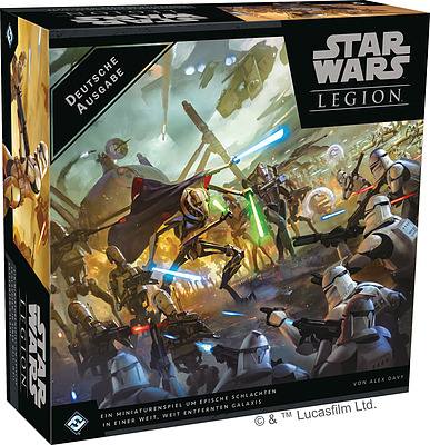 Einfach und sicher online bestellen: Star Wars: Legion - Clone Wars in Österreich kaufen.