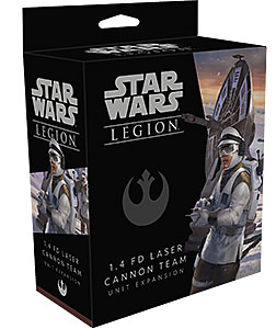 Einfach und sicher online bestellen: Star Wars: Legion 1.4-FD-Lasergeschütz Team in Österreich kaufen.